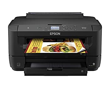 WorkForce WF-7210 Wireless Wide-format Color Inkjet Printer with Wi-Fi Direct and Ethernet Amazon Dash Replenishment Ready