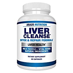 in budget affordable Liver Cleansing and Revitalization Prescription – 22 Herbal Supplements: Ozami Extract…