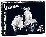 Italeri 4633, Maqueta Moto Vespa 125 Primavera, Kit de Montaje, Escala 1/9