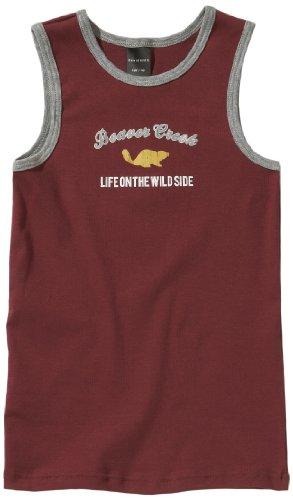 Schiesser Chemisette 136528–507 - Rouge - 10 Ans