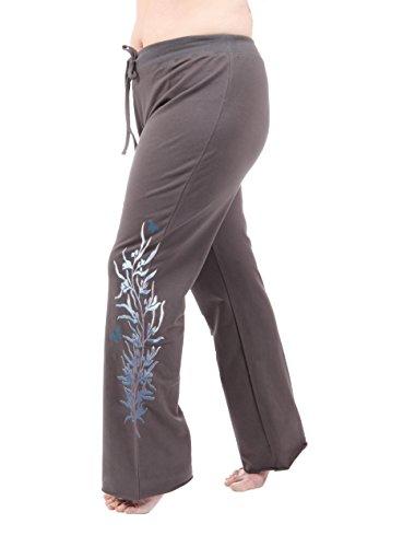Damen Taffy Sportbekleidung Graphic Pants, Damen, Gunmetal, 1X