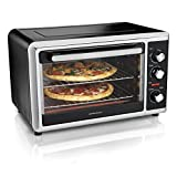 Hamilton Beach Countertop Convection Oven with Rotisserie, Bake Pans & Broiler Rack, Extra-Large...