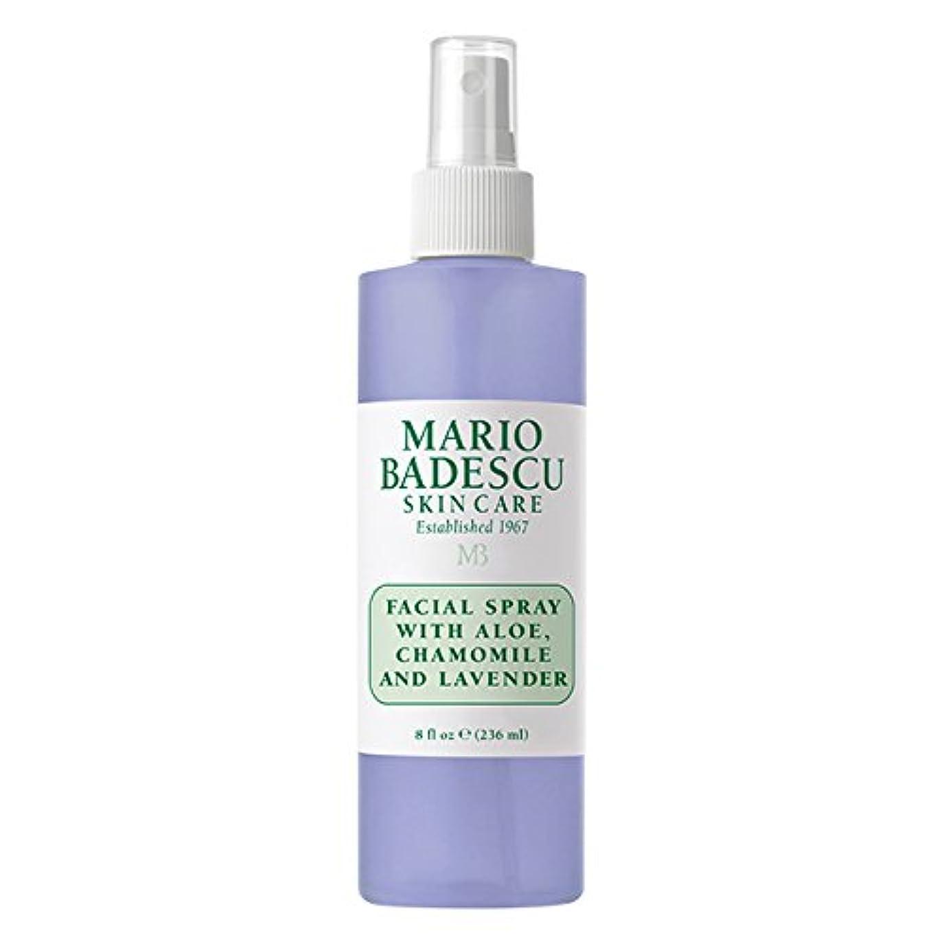 キャプチャー代表現代マリオ バデスク Facial Spray With Aloe, Chamomile & Lavender 236ml/8oz並行輸入品