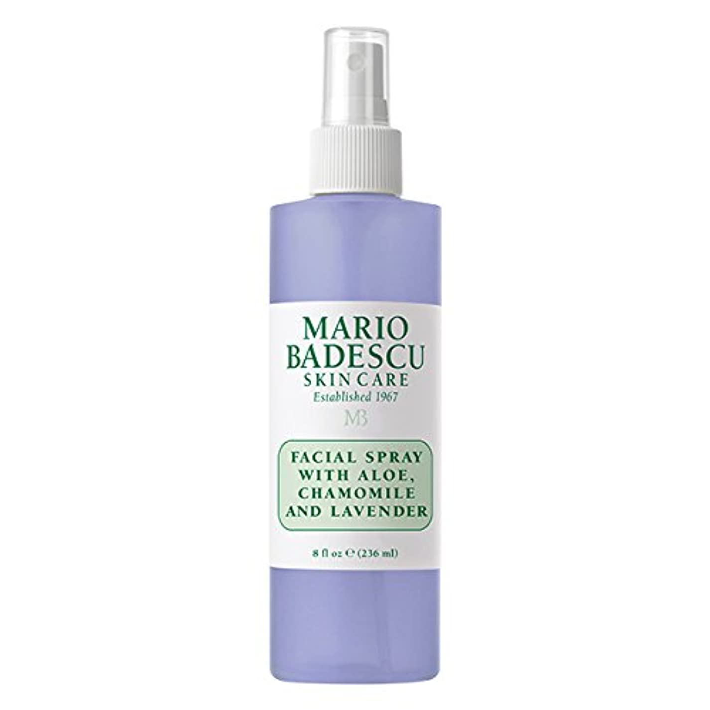 思いやりのある楕円形回復するマリオ バデスク Facial Spray With Aloe, Chamomile & Lavender 236ml/8oz並行輸入品