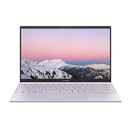 ASUS ZenBook 14 UM425IA Full HD 14' Laptop (AMD Ryzen 7-4700U, 8GB RAM, 512GB SSD, Backlit Keyboard, Windows 10) Includes LED-Numberpad (Renewed)