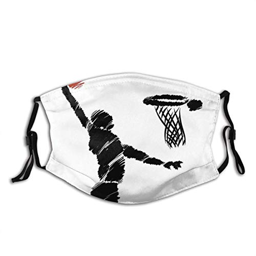 Adjustable Protective Dust Face Masks, Freehand Basketball Training Dustproof Mouth Cover Sleeves