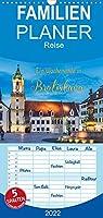 Ein Wochenende in Bratislava - Familienplaner hoch (Wandkalender 2022 , 21 cm x 45 cm, hoch): Bratislava - Entdeckungen an der Donau (Monatskalender, 14 Seiten )