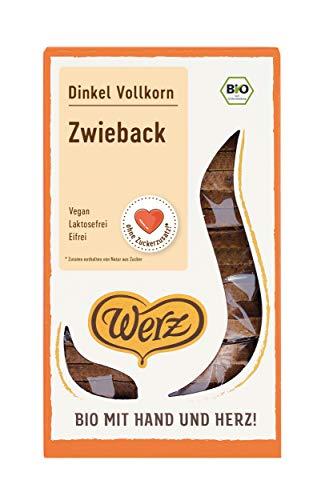 Werz Dinkel-Vollkorn-Zwieback, 2er pack (2 x 175g)