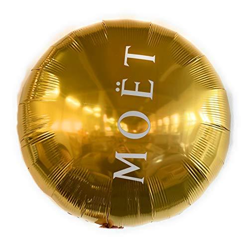 Moet Chandon Gold Imperial Helium Riesen Ballon Balloon ca 60cm