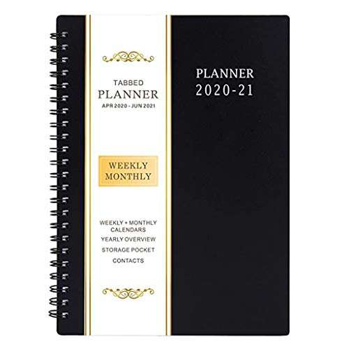 Plan Notebook Color Cover, ACWERT Weekly Diary Pocketbook, Weekly Notebook Every Month in The Future Year for Students Teens Friends Men Women Ideal School Gifts