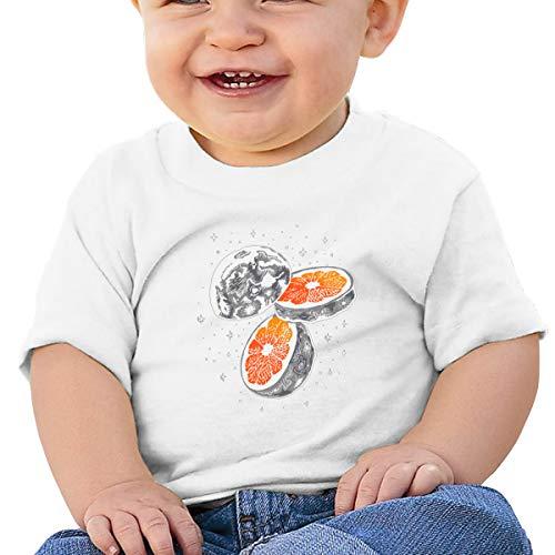 Cml519 Lunar Fruit Orange Baby T-Shirt,Baby T Shirts 6-24 Months