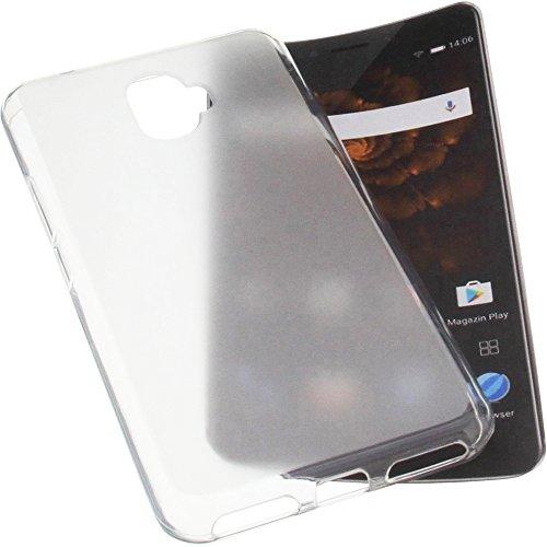 foto-kontor Tasche für Allview X4 Xtreme Gummi TPU Schutz Handytasche transparent weiß