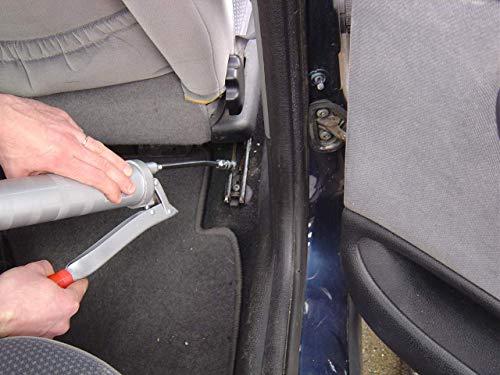 3-EN-UN Technique • Pompe à Graisse • S'adapte à tous les graisseurs standards automobiles • Etanche et facile d'utilisation • Grip aisé • Fixation embout simple • Pour cartouche 400 G