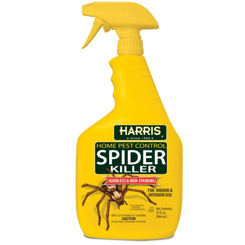 Harris Spider Killer, Liquid Spray with Odorless and Non-Staining Formula (32oz)