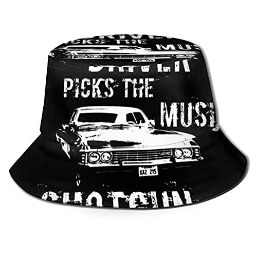XCNGG I Antes de E Excepto después de C Regla gramatical Unisex Summer Sun Bucket Hat Gorra de Playa