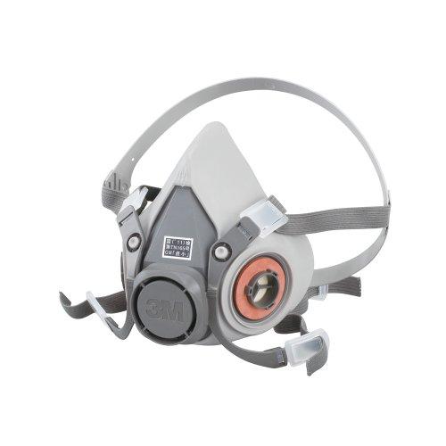 3M 防毒マスク 半面形面体 6000 ミディアム 国家検定合格品 6000M