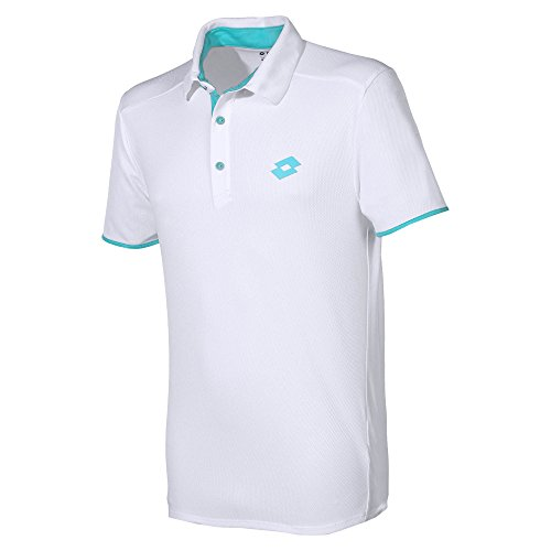 Lotto Vêtements de Haut du Corps Polo 1000 Men L White/Green is