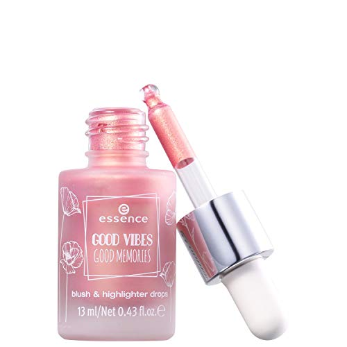Essence Good Vibes Good Memories Blush & Highlighter Drops Nr. 01 bloom day by day Inhalt: 13ml
