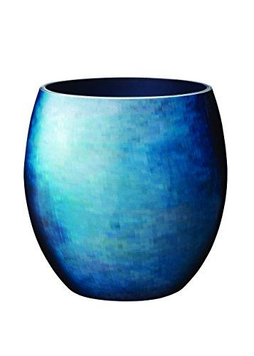 Stelton Stockholm Ø 166, mittel-Horizon Vase, Aluminium, 21 x 21 x 23 cm