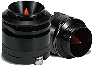 "$103 » 1"" Titanium Bullet Compression Horn Black Tweeters 200W Car Audio Sport Glide XT60 Cadence"