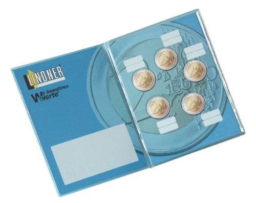 Lindner 8452 2-Euro Taschenalbum