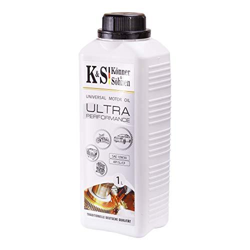 Könner & Söhnen KS 10W-30 - Aceite de motor multigrado semisintético de alta calidad para motores de gasolina y diésel