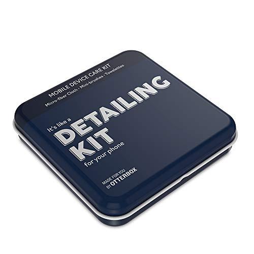 OtterBox Apparaatverzorgingsset, accessoires voor mobiele telefoons met alcoholdoekjes -Detail Kit - Blauw (78-52084)