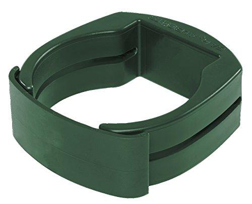 GAH-Alberts 655945 Fix-Clip Pro® zur Befestigung von Schweißgittern an Zaunpfosten - grün, für Ø60 mm