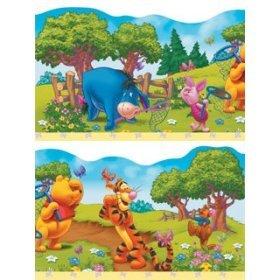 selbstklebende Tapeten-Borte / Bordüre Winnie the Pooh 5 m lang, 214 mm hoch