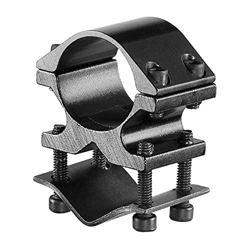 ACEXIER, Linterna Ajustable, Soporte láser, Soporte de Abrazadera, Soporte de Anillo de 25 mm, Ajuste de 9-23 mm, Adaptador de riel de Montaje de Barril Picatinny/Weaver