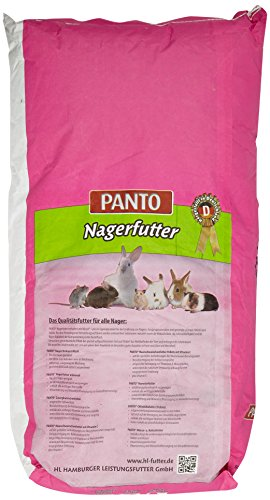 Panto Nagerfutter Universal mit Wisan-Lein, 1er Pack (1 x 25 kg) - 2
