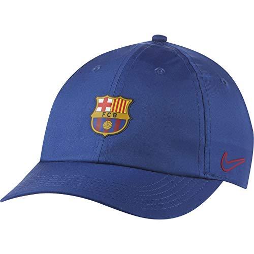 Nike Kinder FC Barcelona Heritage86 Cap, Deep Royal Blue/Deep Royal Blue, One Size