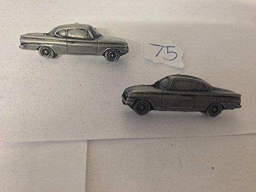 Ford Capri 3D Classique Boutons de manchette Homme-Classique-Bouton de manchette en étain effet ref75