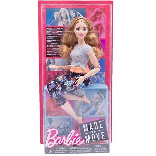 Boneca Barbie Feita para Mexer Yoga Ruiva