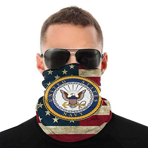 Nother Seal of the United States Navy - Pañuelo para el cuello al aire libre, para la cara, bandana para la cabeza, bufanda para la cabeza, resistente al viento, polvo