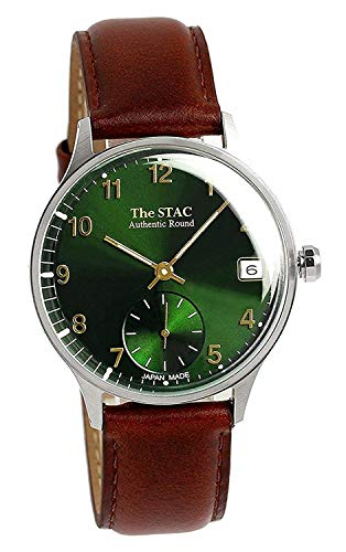 [ザ・スタック] The STAC 日本製 国産 腕時計 ウォッチ 36mm クラシックグリーン メンズ レディース ユニセックス