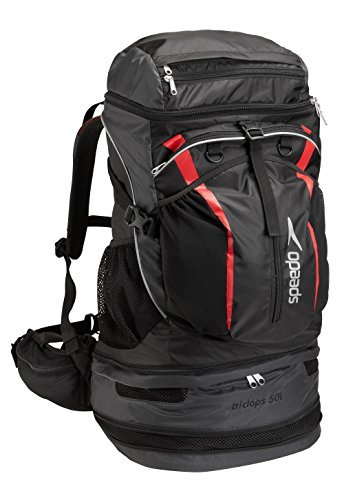 Speedo Unisex-Adult X-Large Tri Clops Backpack 50-Liter