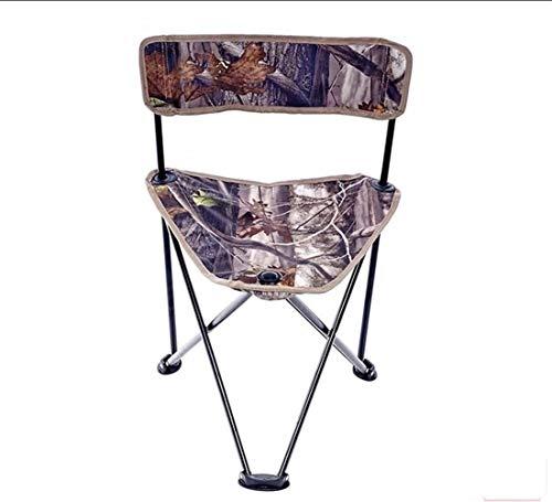 Portable Chaise pliante rapide pliant large en nylon à trépied léger pliant Camping Sports Chaise Carry Bag for l'extérieur Camp de pique-nique Randonnée
