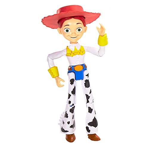 Disney Pixar Toy Story Figurine articulée Jessie, taille fidèle au film pour rejouer les scènes du film, jouet pour enfant, GDP70