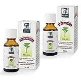 BADERs Teebaumöl. Der Klassiker aus der Apotheke. Doppelt destilliert. Desinfizierend. Australisches Melaleuca alternifolia. 2 x 30 ml