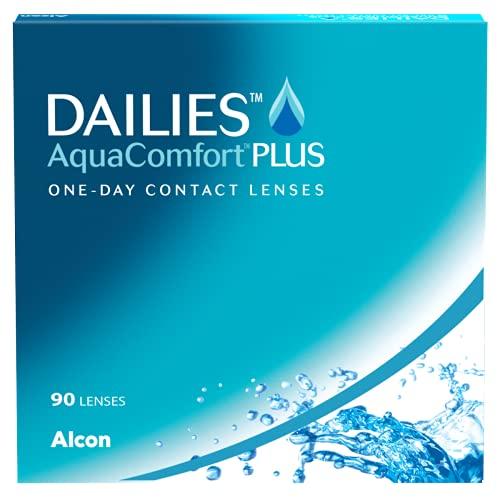 Dailies AquaComfort Plus Lenti a Contatto Giornaliere, 90 Lenti, BC 8.7 mm, DIA 14.0 mm, 1.00 Diopt