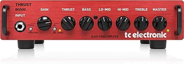 TC Electronic Bass Amplifier Head (BQ500)