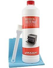 Maxxi Clean Ovenreiniger 1000 ml gelpasta incl. oven- en grillreiniger borstel + bonus agPLUS fleece