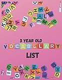 3 year old vocabulary list: vocabulary list | Kids Vocabulary List | Word List | Vocabulary Card | Vocabulary Chart | Vocabulary Tracker | Language List