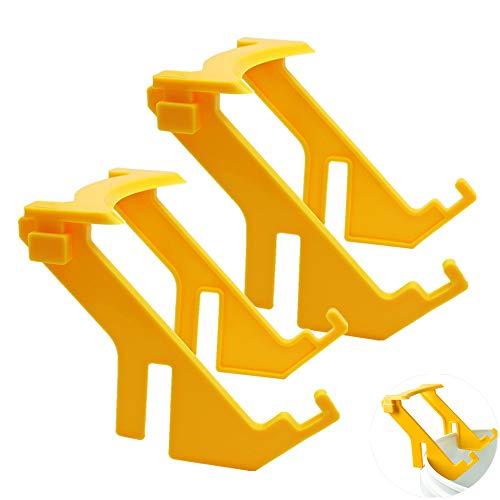 PROBEEALLYU Estante para Cubos de Miel, Soportes Removibles para Cubos de Miel Soporte de Marco portátil Herramientas para la Apicultura de la Colmena(2pcs)