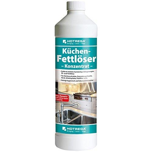 HOTREGA Küchen Fettlöser Konzentrat 1L - Küchenreiniger gegen Öl- / Fett Flecken