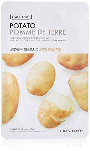 The Face Shop Real Nature Sheet Masks 10 pieces + Free gift