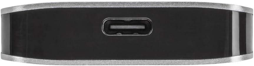 Targus USB-C Multi-Port Hub with 2X USB-A and 2X USB-C Ports with 100W PD Pass-Thru, Gray (ACH228EU)