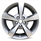 Road Ready Car Wheel For 2008-2012 Chevrolet Malibu Full Size Spare 17 Inch Aluminum Rim Fits R17 Tire - Exact OEM Replacement-Full-Size Spare