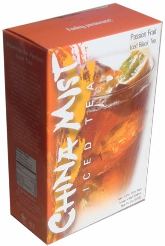China Mist Iced Tea Brew-at-Home Iced Black Tea, Passion Fruit, 2-Ounce Packages (Pack of 6)